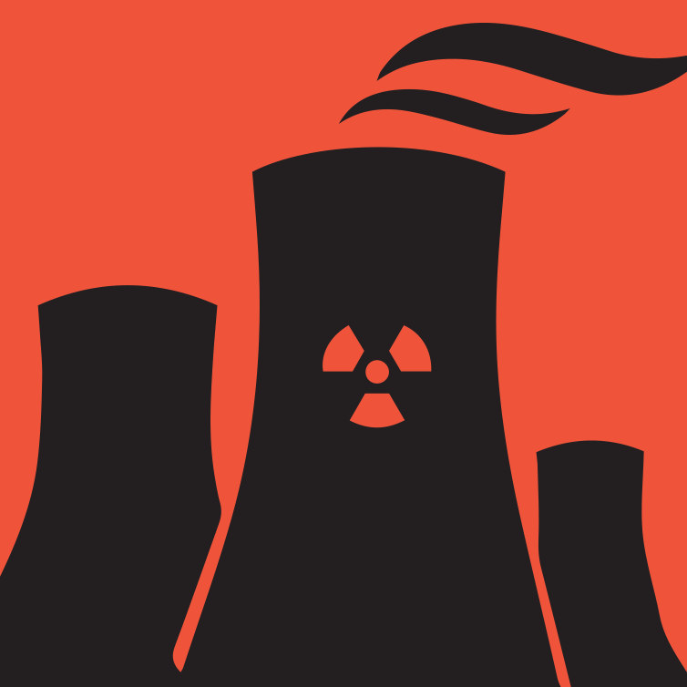 Nuclear Energy Generation Icon