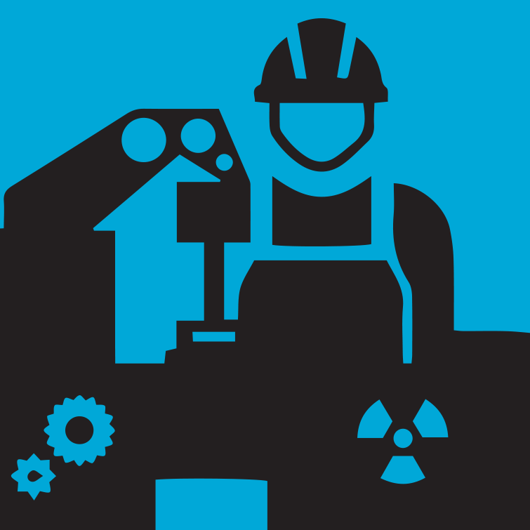 Nuclear Processes in Manufacturing Icon